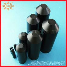 Tapas finales termorretráctiles resistentes a los rayos ultravioletas para barandas de aluminio