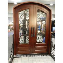 Schmiedeeisen Holz Tür, Eisen Tür, schmiedeeisernen Tür
