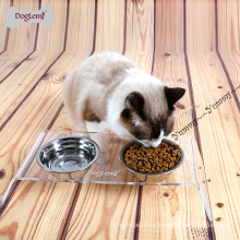 Small Dog Puppy Food Feeder OF Stainless Steel Pet Dog Cat Bowl