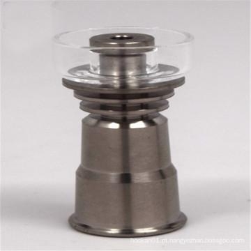 Quartz / titânio híbrido Domeless prego para fumar tabaco por grosso (ES-TN-031)