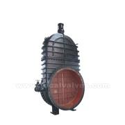 Válvula de compuerta de metal sellado