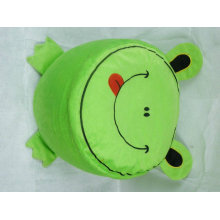 lovely and practical plush frog Inflatable stool