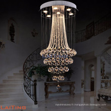 Décoration à la maison moderne lamparas de techo utilisé lustre pendentif lumière éclairage 92040