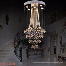 Decoração de casa moderna lamparas de techo usado candelabro pendant light lighting 92040
