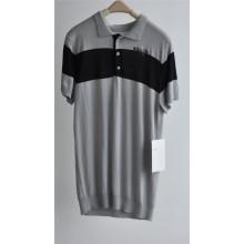 2016 algodão viscose manga curta homens camisola