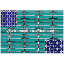Malla de alambre ondulado de acero de bajo carbono