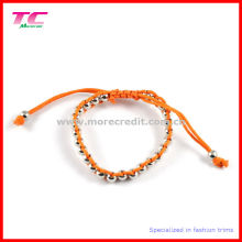 Popular Handmade Bracelet with Metal Beads