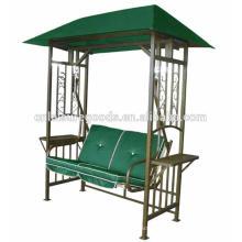 Balancelle de jardin en métal 2 places balançoire gazebo