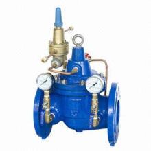 Vanne d'équilibrage différentielle de pression de fer ductile à revêtement époxy