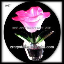 K9 rosa flor de cristal