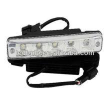 5pcs haute puissance conduit drl lumière led voiture éclairage