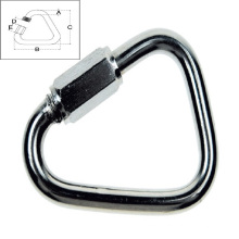 Stainless Steel Casting Delta Quick Link Hook (Fastener Hardware)