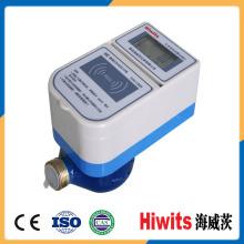 Medidor de flujo de agua pre-pagado de la tarjeta del IC del mecanismo múltiple del jet con software libre