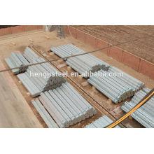 BS 1387 erw tubo de acero galvanizado
