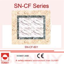 PVC del grueso de 2m m para la decoración del piso del coche del elevador (SN-CF-601)