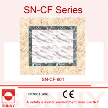 PVC de 2 mm d'épaisseur pour la décoration du plancher de voiture ascenseur (SN-CF-601)