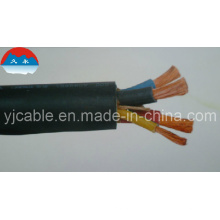 Gummi-Isolierkabel Flexibles Kabel