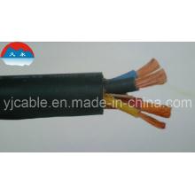 Cable de aislamiento de goma Cable flexible