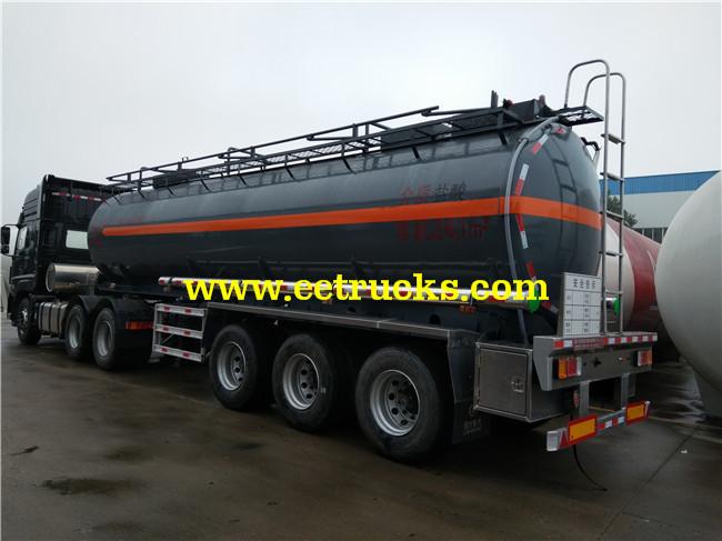 25 CBM Hydrochloric Acid Tank Trailers