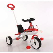 Chariots de tricycle pour enfants en plein air pour enfants avec parapluies