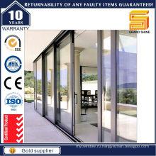 Двойные стеклопакеты Алюминиевые раздвижные двери (7790)