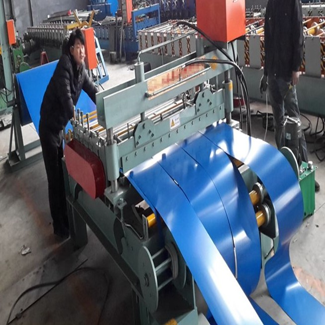 Colored Steel Coil Slitting Machine