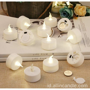Baterai Dioperasikan Gereja Terbaik Tea Light Candles