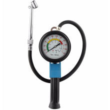 Tire Inflator with Large Gauge (9CM)