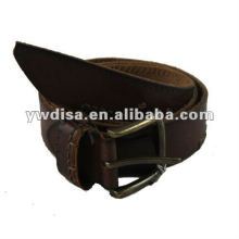 Wholesale Man's Full Grain Plain Leather Belt Strap With Factory Price