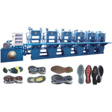Automatic Rubber Sole Hydraulic Moulding Machine