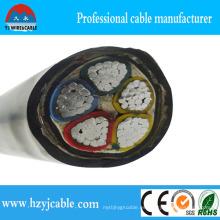 Al aire libre Cableado Eléctrico XLPE aisló el cable de alimentación encajado PVC del Sta