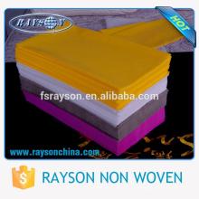 Tipos não tecidos da toalha de mesa do quadrado de 1 * 1m 1.2 * 1.2m 1.4 * 1.4m de tela não tecida