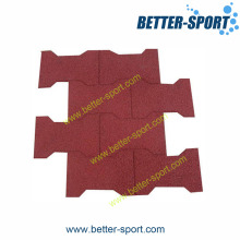Rubber Tile Flooring, Rubber Safety Tile