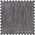 Black Cotton Viscose Linen Tencel Denim Fabric