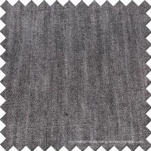 Tela de viscosa de algodón negro Tencel Denim