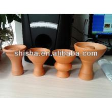 Cachimbo de tigela chicha bar produtos argila narguilé tigela shisha cerâmica artesanal do cachimbo de água bacia