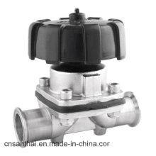 Válvula de Diafragma Sanitária de Aço Inoxidável