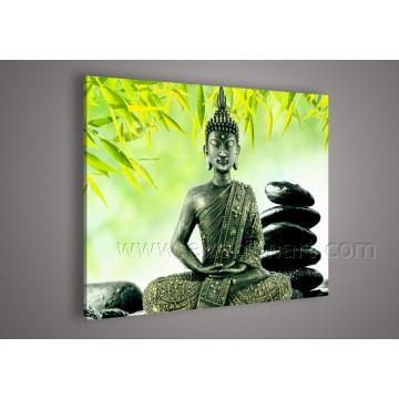 Handmade картина маслом искусства Будды для украшения стены