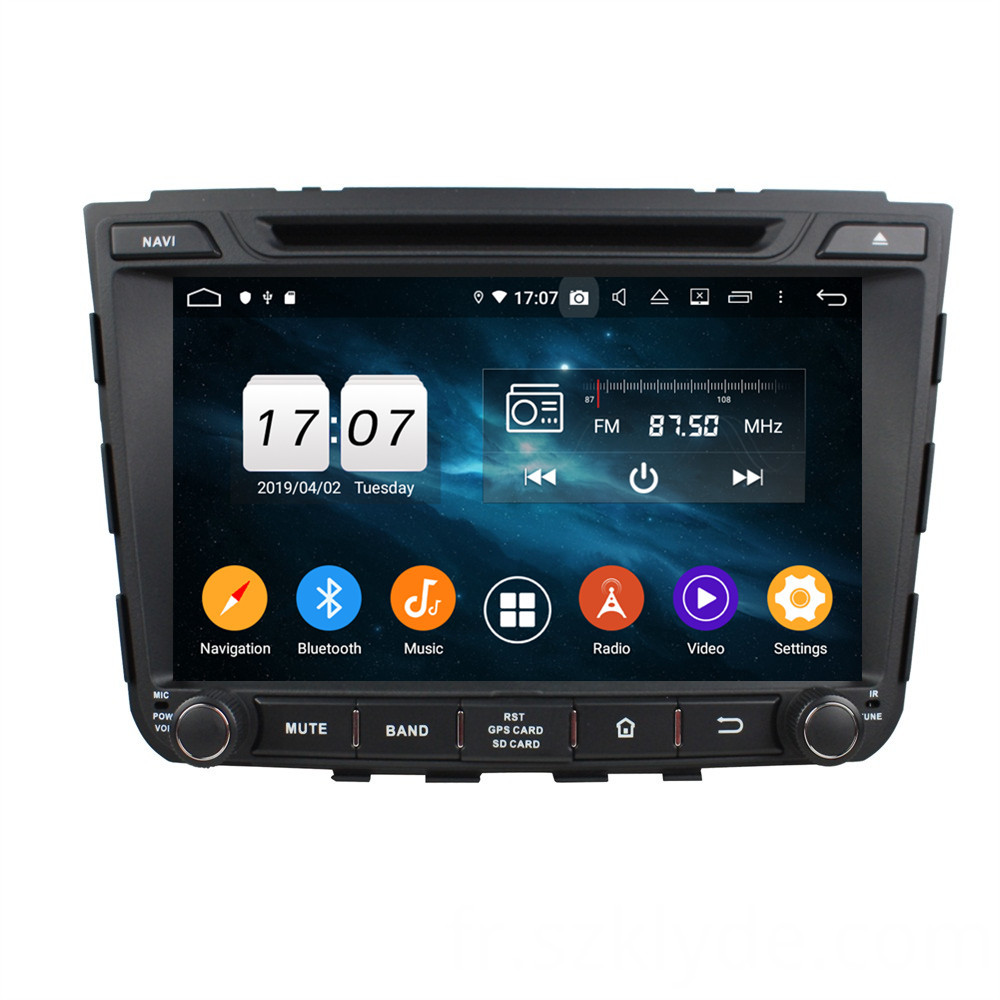 car radio with gps for IX25