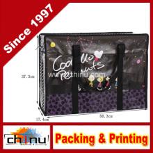 Promoção embalagem de compras não tecidos saco (920057)