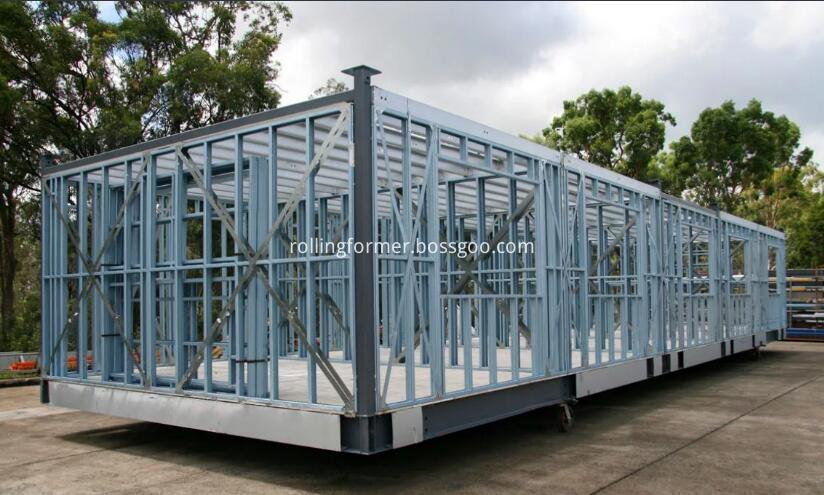 steel wall frame
