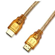 Transparent HDMI CABLE A Type Male to A Type Male