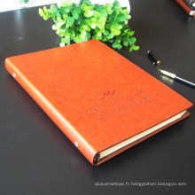 Journal Journal / Impression sur ordinateur portable en cuir / Carnet de poche en cuir