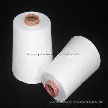 40s poliéster / hilo de algodón mezclado para el tejido