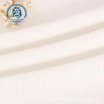 Knitting  65% Polyester 35% Cotton Waffle Fabric