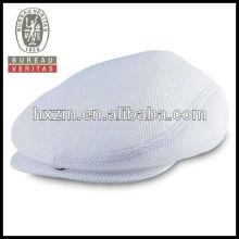 Capuchon de golf en maille en polyester blanc