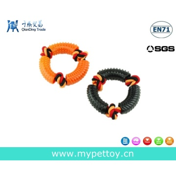 TPR Tyre with Rope Pet Toy Dog Product