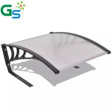 Guansu Diy Iron Standing Garage Roof Rain Canppy For Garden Lawn Mower Canopy