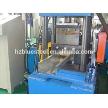 Galvanizado marco de puerta de acero que forma el rodillo que hace la máquina, metal de aluminio puerta marco que forma el precio de la máquina