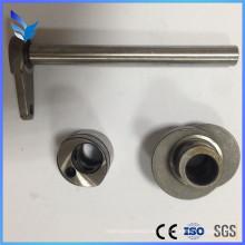 Pièces d'usinage en acier inoxydable pour la machine à coudre à l'alimentation composée haut / bas